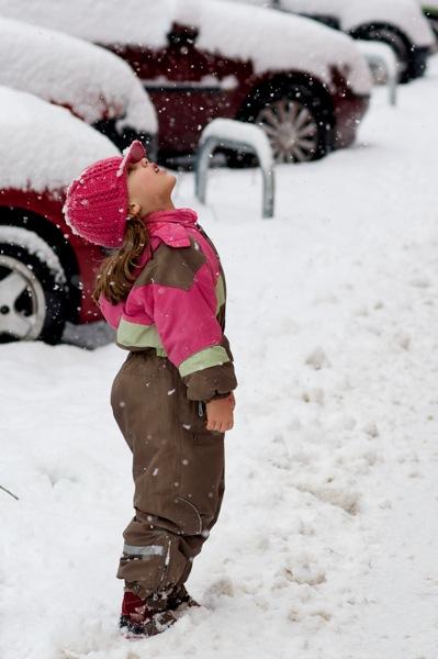 Sníh…!